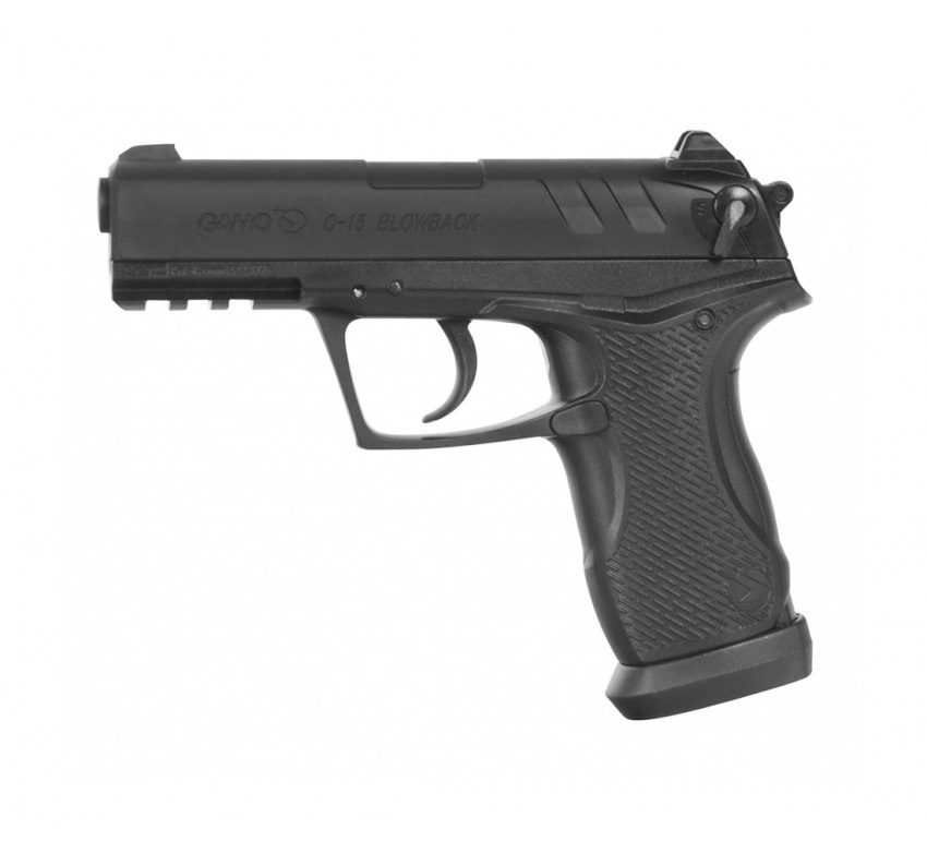 PISTOLA CO2 GAMO C-15  BLOWBACK 4.5MM,ARMAS DE CO2,TIRO ESPORTIVO