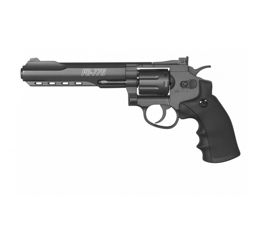 REVÓLVER CO2 GAMO PR-776 4,5MM,ARMAS DE CO2,TIRO ESPORTIVO
